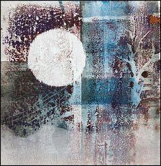 mono print: mark making by arist Bob Cornelis Gelli Printing, Printing Process, Gelli Arts, Encaustic Art, Art Graphique, Mark Making, Teaching Art, Printmaking, Monoprint Artists