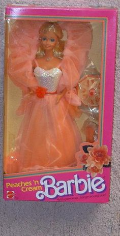 Peaches 'n Cream Barbie - I loved her!.. I still have the dress;)