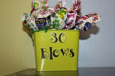 Party favors - for bigger party/outing (either HH or after dinner on Saturday)