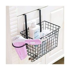 Cheap storage hanging baskets, Buy Quality hanging storage baskets directly from China basket hanging Suppliers: YONTREE 1 PC European Style Iron Detachable Storage Hanging Basket Backdoor Drain Rack Bathroom Organization, Storage Shelves, Shower Shelves, Kitchen Storage Rack, Bathroom Items, Door Storage, Toilet Storage, Bathroom Storage, Storage Baskets
