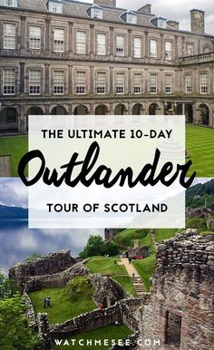 Ultimate Outlander Tour of Scotland Calling all Outlander fans! This ultimate tour through beautiful Scotland is for you! Here's what to expect and how to go!Calling all Outlander fans! This ultimate tour through beautiful Scotland is Europe Travel Tips, New Travel, European Travel, Travel Guides, Places To Travel, Places To See, Travel Destinations, Travel Packing, Travel Hacks
