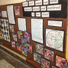 Inquiring Minds: Mrs. Myers' Kindergarten: Documentation of Our Color Inquiry ≈≈