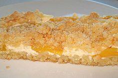 Schneller Quark - Streusel - Kuchen mit Obst