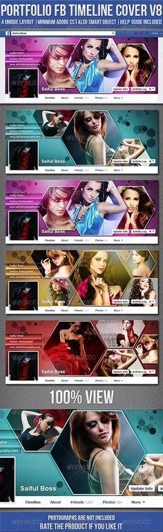 Portfolio Facebook Timeline Cover V8