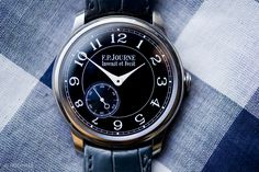 F.P. Journe Chronometre Bleu - one of the cheaper watches in the F.P. Journe collection at a cool $20k