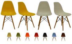 Eames kopi stol - kan fås i hvid