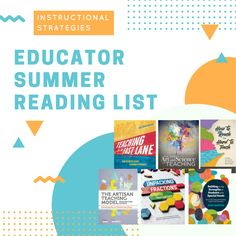 Instructional strategies are key for a productive classroom. Here's our selection of Instructional Strategies for your summer. Instructional Strategies, Instructional Design, Lesson Plan Format, Lesson Plans, Summer Reading Lists, Educational Leadership, Teaching Science, Professional Development, Teacher Resources