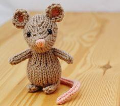 Marisol la souris Knitting Pattern PDF sur Etsy, CHF3.21