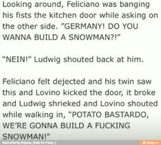 ....Did anyone else read this in their English dubbed accents? It's the most amazing thing on earth.