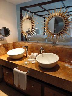 Luxury washroom area at Excellence Playa Mujeres!
