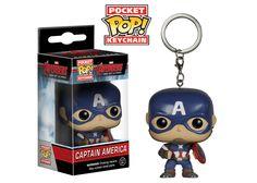Pocket Pop! Keychain: Avengers 2 - Captain America | Funko