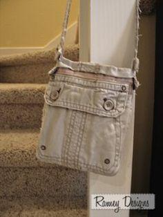 Cargo Pants Repurposed | DIY Studio