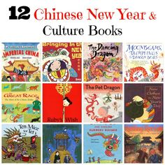12 Chinese New Year and Culture books from Miss Panda
