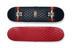 Casely-Hayford x H by Harris Quilted Leather Skateboards http://hypb.st/1eWjpWN