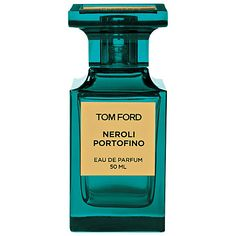 The TOM FORD Neroli Portofino scent has a crisp effervescent quality. A reinvention of a classic eau de cologne, it features Tunisian neroli, Italian bergamot, Sicilian lemon, winter yellow mandarin, lavender, orange flower, rosemary and amber.