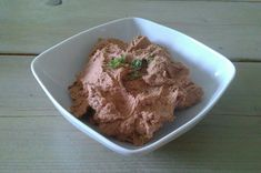 Bohnenaufstrich (vegan) Chutney, Kraut, Pesto, Ice Cream, Desserts, Food, Salsa, Dips, Dressing