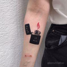 Lil Peep Tattoos, Dope Tattoos, Body Art Tattoos, Small Tattoos, Tattoos For Guys, Dark Art Tattoo, Light Tattoo, Tattoo Portfolio, Tatuagem Old School