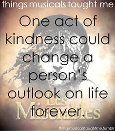 one act of kindness