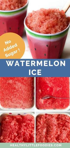 Sep 2019 - Watermelon Ice is a great summer snack. This recipe has only two ingredients - watermelon and lime. It is a great simple, frozen, healthy treat for babies, toddlers kids, grown-ups - the whole family. Summer Treats, Summer Desserts, Summer Recipes, Simple Snack Recipes, Simple Recipes For Kids, Healthy Recipes For Kids, Healthy Summer Snacks, Cooking For A Crowd, Cooking Tips