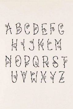 90 Beautiful Typography Alphabet Designs Part 2