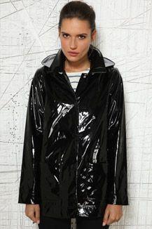 Petit Bateau Patent Raincoat