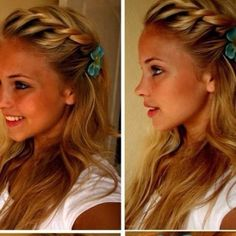 French twist braid
