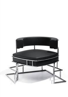 Image 10 of 11 from gallery of New Furniture Designs for Sawaya & Moroni / Zaha Hadid, Daniel Libeskind, Dominique Perrault. Torq Armchair / Daniel Libeskind