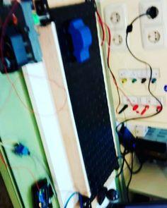 Cinta para lectura de matrículas  ArduinoVisión Artificial  #MeSientoPro #Maqueta #SSP #robótica #industrial #arduino #labview #vision #electrónica #car #plate #reading #artificial #intelligence by maryacciatella