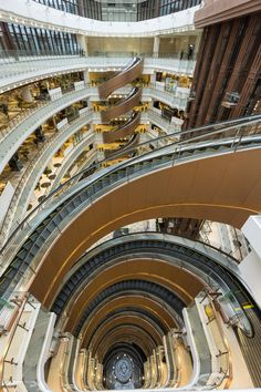 Spiral Escalator In Shanghai :O   In #China? Try www.importedFun.com for award winning #kid's #science  