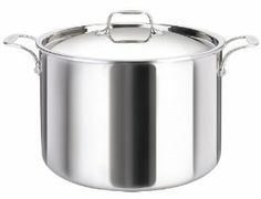 Cool Clad Tri-Ply Stainless Steel 15 Quart Stockpot with Lid by Josef Strauss. $215.00. Made with a tri-ply aluminum core that extends to the rim offering superior performance.. Dishwasher safe,Limited Lifetime Warranty. Compatible with all cooking surfaces including induction, oven safe. Riveted stay-cool handles for easy and safe transportation. Made fom the highest quality heavy-guage 18/10 stainless steel. The Cool Kitchen Cookware is manufactured with a tri-p...