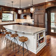 Traditional Kitchen Photos Light Island Dark Cabinets Design, Pictures, Remodel, Decor and Ideas