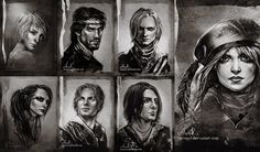 Rats - gang of rogue from the Witcher