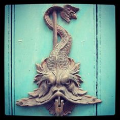 Door knocker of Cartagena
