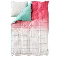 S Minimal duvet cover and pillow case, Syrup