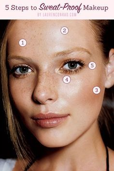 5 Steps to Melt-Proof Makeup - Great ideas for humid FL
