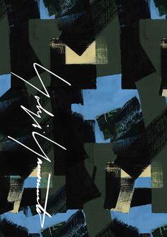ヨウジヤマモト神戸店に特別な空間演出 - 画家・朝倉優佳のペインティングやドローイングの世界観を表現の写真2