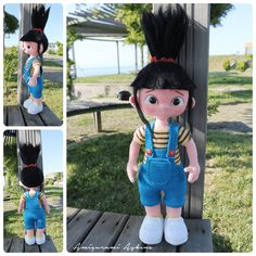 Amigurumi Agnes Doll- Despicable Me