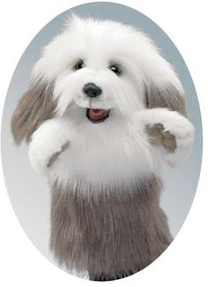 Plush Dog Puppet