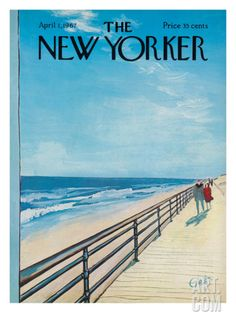 The New Yorker Cover - April 1, 1967 Premium Giclee Print by Arthur Getz at Art.com