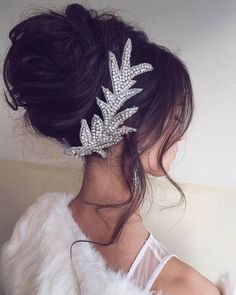 Wedding Updo Hairstyles for Long Hair from Ulyana Aster_10 ❤ See more: http://www.deerpearlflowers.com/wedding-updo-hairstyles-for-long-hair-from-ulyana-aster/