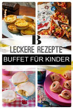 """Buffet für Kinder: Leckeres für die Kinderparty. Das Motto: """"Prinzessin trifft Pirat!"""" Dazu gibt es viele Leckereien, die auf einem Buffet für Kinder richtig was her machen. Buffet, Motto, Food And Drink, Breakfast, Kids, Blog, Princess, Treats, Food And Drinks"""