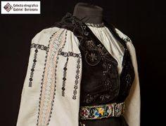 Romanian blouse sleeve detail. Gabriel Boriceanu collection Folk Costume, Costumes, Rupaul, Romania, Textiles, Moldova, Traditional, Blouse, Gabriel