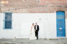 Orlando photographer  Bride and groom    Citrus Club Orlando wedding   tilt shift lens www.AmalieOrrangePhotography.com