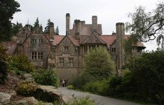 Cragside, Northumberland, the first house in the world to be lit with electric power.