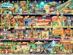 Toy Wonderama by Aimee Stewart HAED