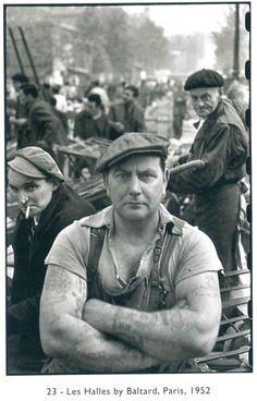Les Halles, 1952, Henri Cartier-Bresson
