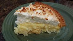 I didn't know it was so easy to make a coconut pie.