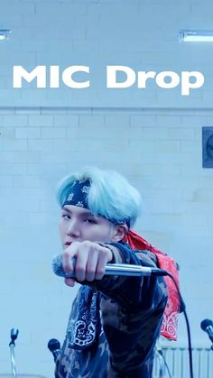 Mic Drop Wallpaper