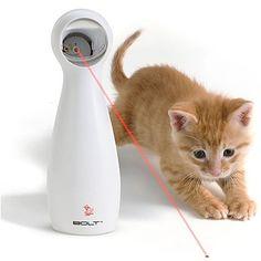 juguete laser para gatos