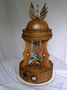 Steampunk cakes - a collection of steampunk cakes - what is a steampunk cake?